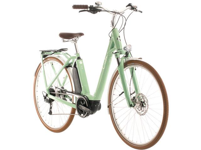 Cube Ella Ride Hybrid 400 Easy Entry, green'n'white